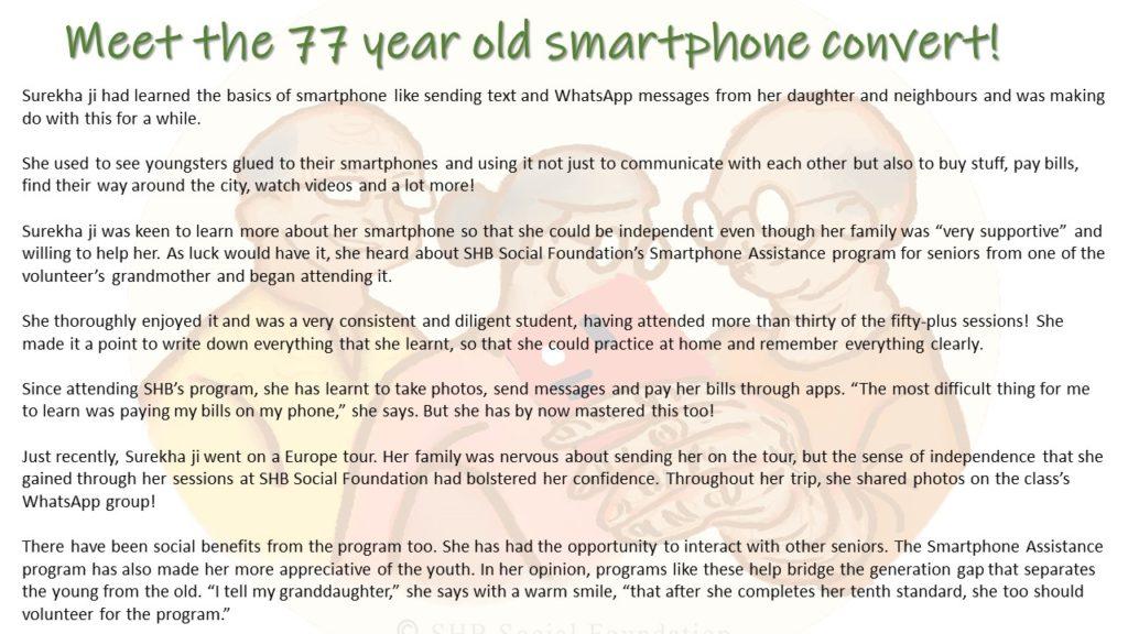 smartphone impact story
